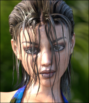Actual Wet Hair Genesis 3 Female by RPublishing