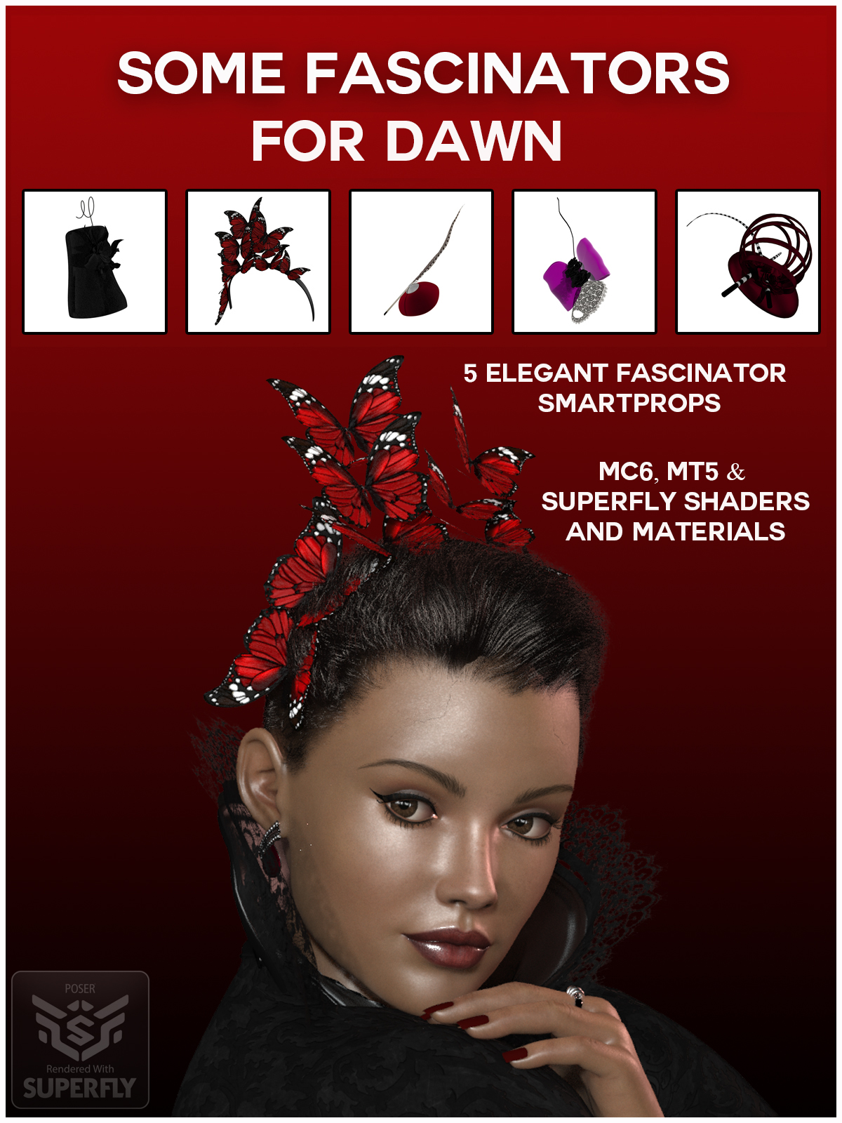 Some Fascinators for DAWN