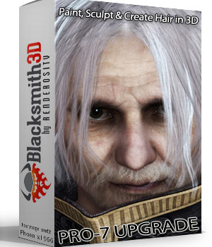 Blacksmith3D Pro-7 Upgrade from Standard-7 3D Software : Poser : Daz Studio : iClone Blacksmith3D