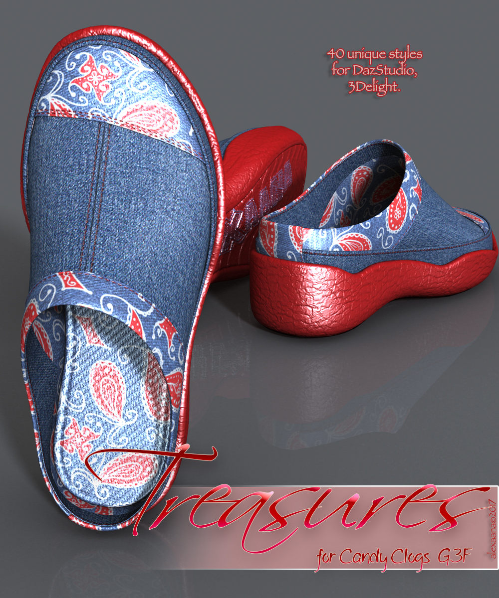 Treasures Candy Clogs G3F