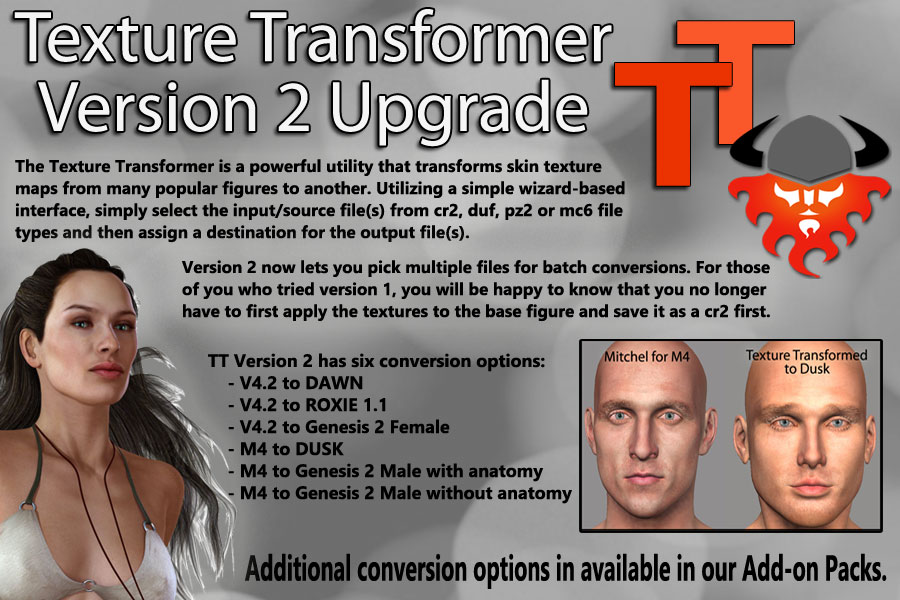 Texture Transformer v.2 Upgrade from v.1
