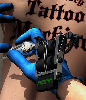 Tattoo Machine 3D Models coflek-gnorg