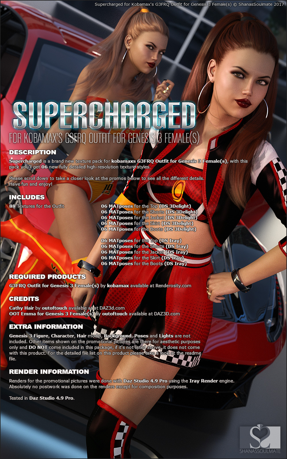 Supercharged for G3FRQ Outfit
