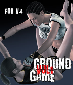 Ground Game vol.1 for V4 3D Figure Assets PainMD