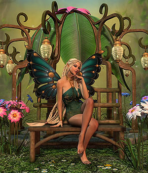 DMs Fairy Pavilion - Extended License 3D Figure Assets 3D Models Extended Licenses DM