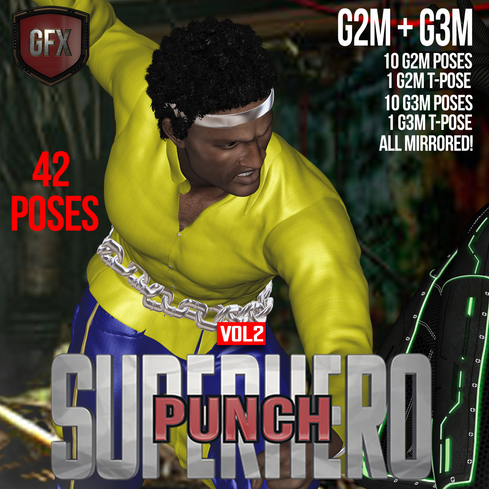 SuperHero Punch for G2M & G3M Volume 2 by GriffinFX