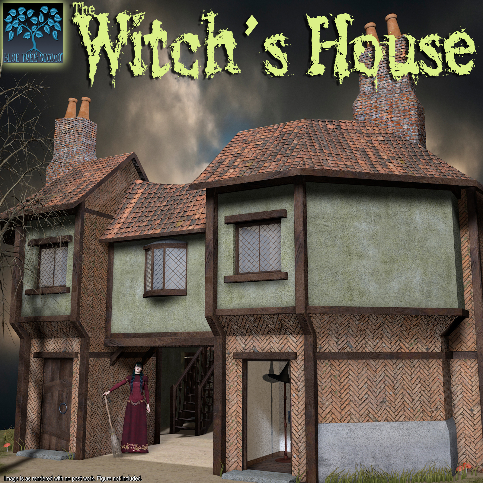 Witch's House by BlueTreeStudio