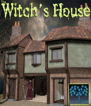 Witch's House 3D Models BlueTreeStudio