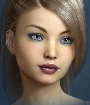 FWSA Jasmine for Victoria 7 and Genesis 3 3D Figure Assets Sabby