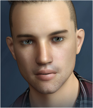 FWSA Jacob for Michael 7 and Genesis 3 3D Figure Assets Sabby