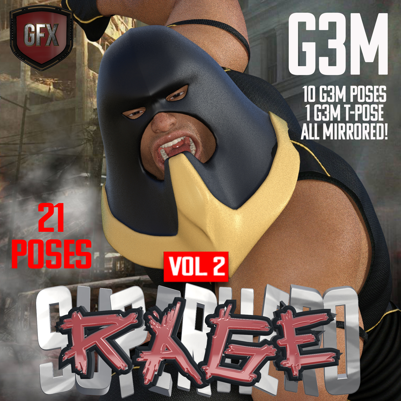 SuperHero Rage for G3M Volume 2