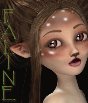 Faline for Maisie 3D Figure Assets FantastArt