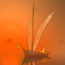 Dragonfly boat image 1