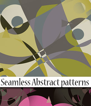 Seamless Abstract Patterns 2D Graphics antje