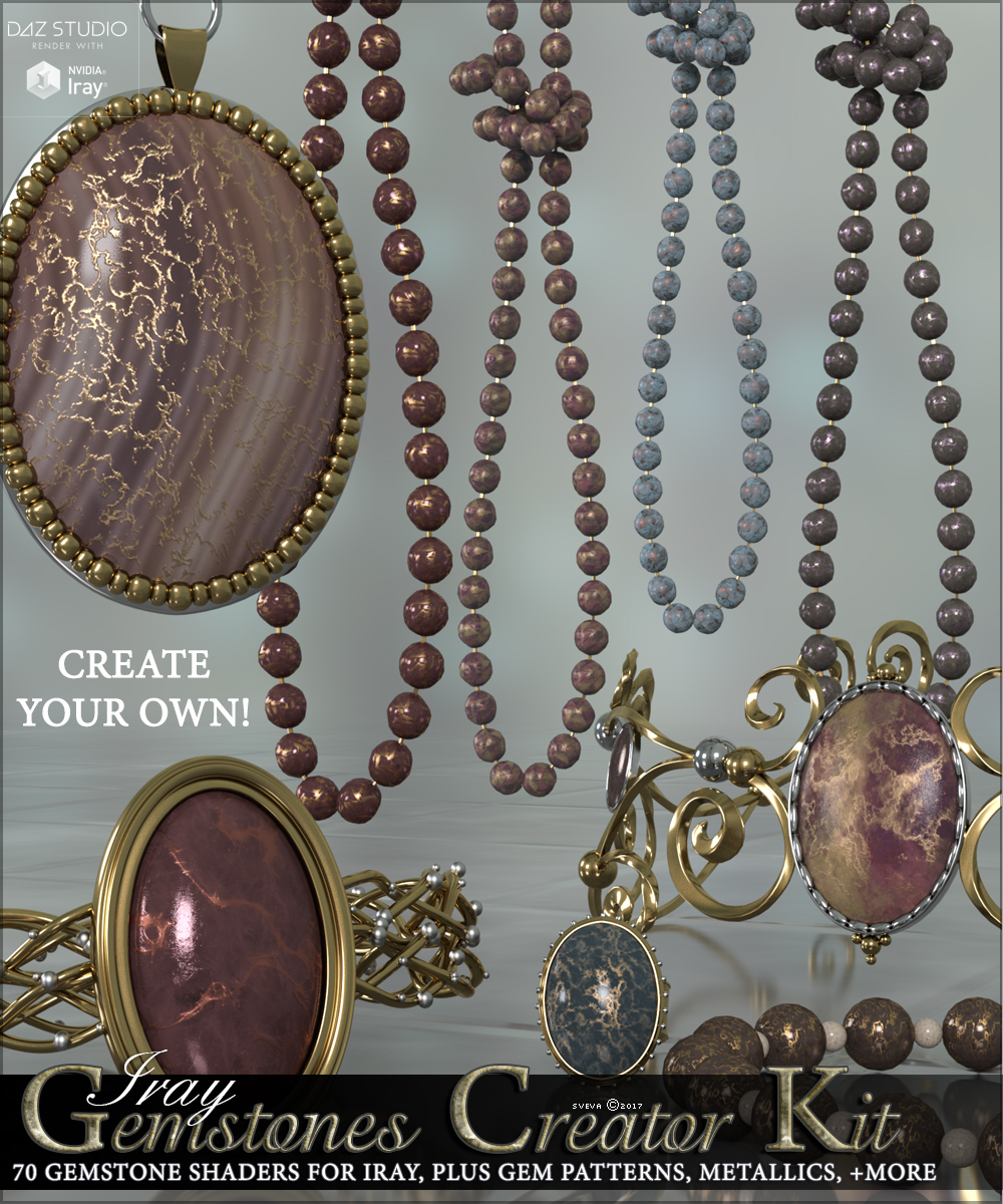 SV's Iray Gemstones Creator Kit