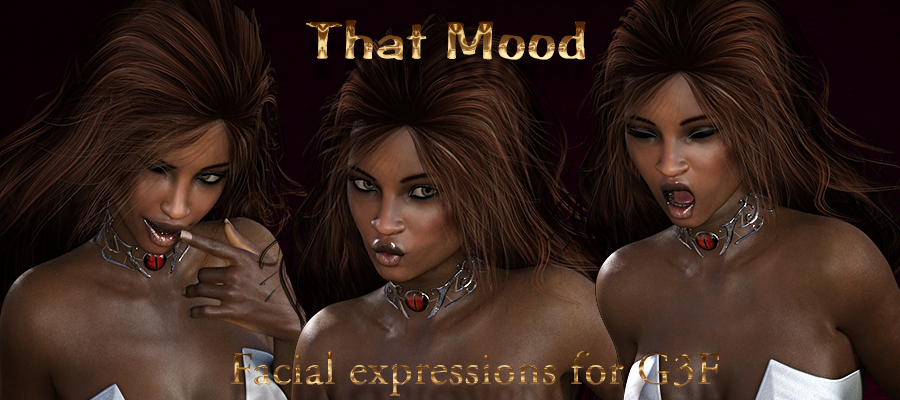 That Mood Expressions for G3F/V7