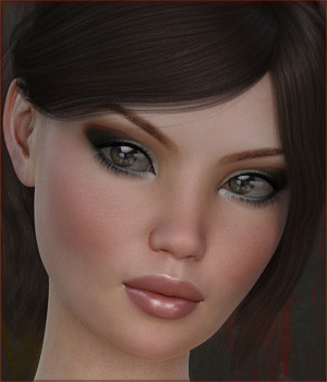 TDT-Milly for Genesis 3 Female 3D Figure Assets Deva3D
