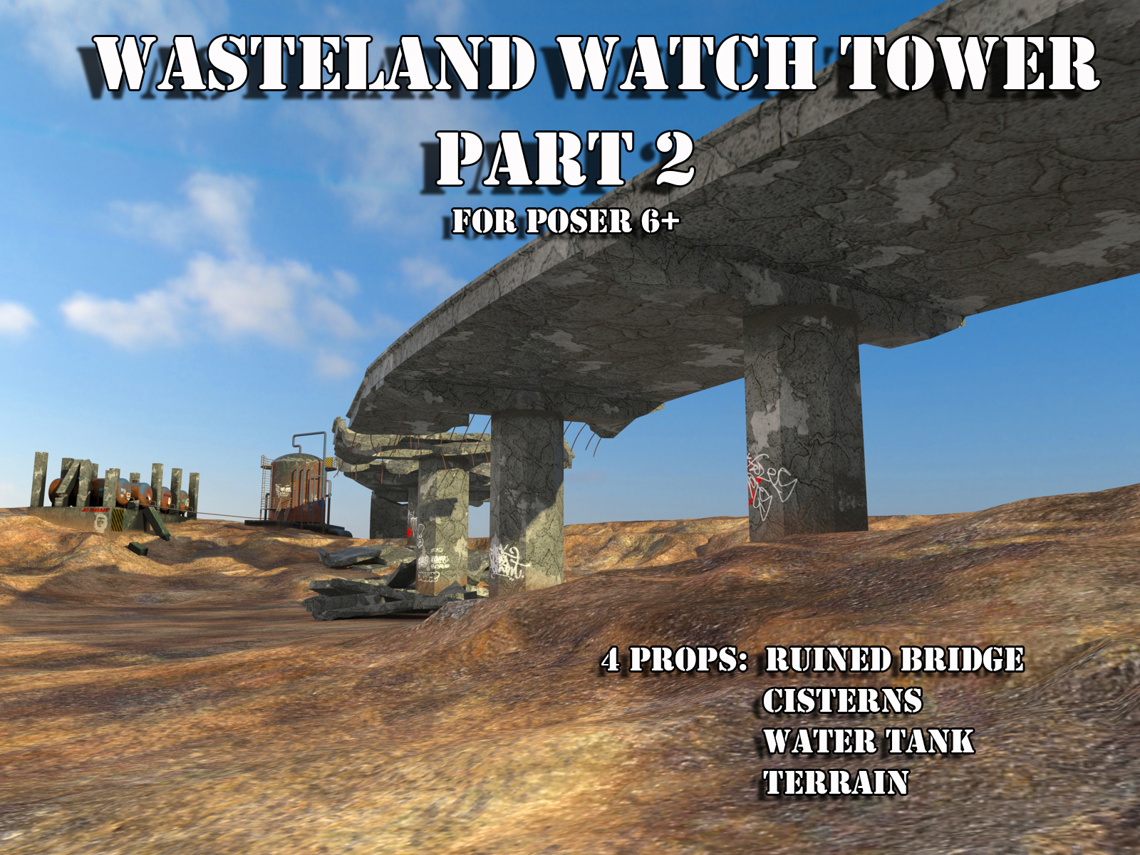 AJ Wasteland Watch Tower 2