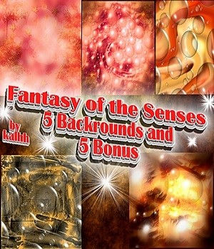 Fantasy of the Senses Backrounds by kalhh 2D Graphics kalhh