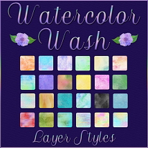 Watercolor Wash Layer Styles image 2