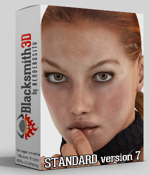 Standard version 7 3D Software : Poser : Daz Studio : iClone Blacksmith3D