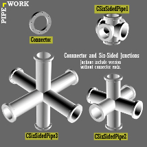PIPE WORK Collection (FBX, DAE,OBJ, BLEND) Extended License image 1
