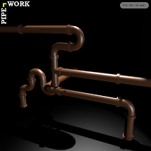 PIPE WORK Collection (FBX, DAE,OBJ, BLEND) Extended License image 6