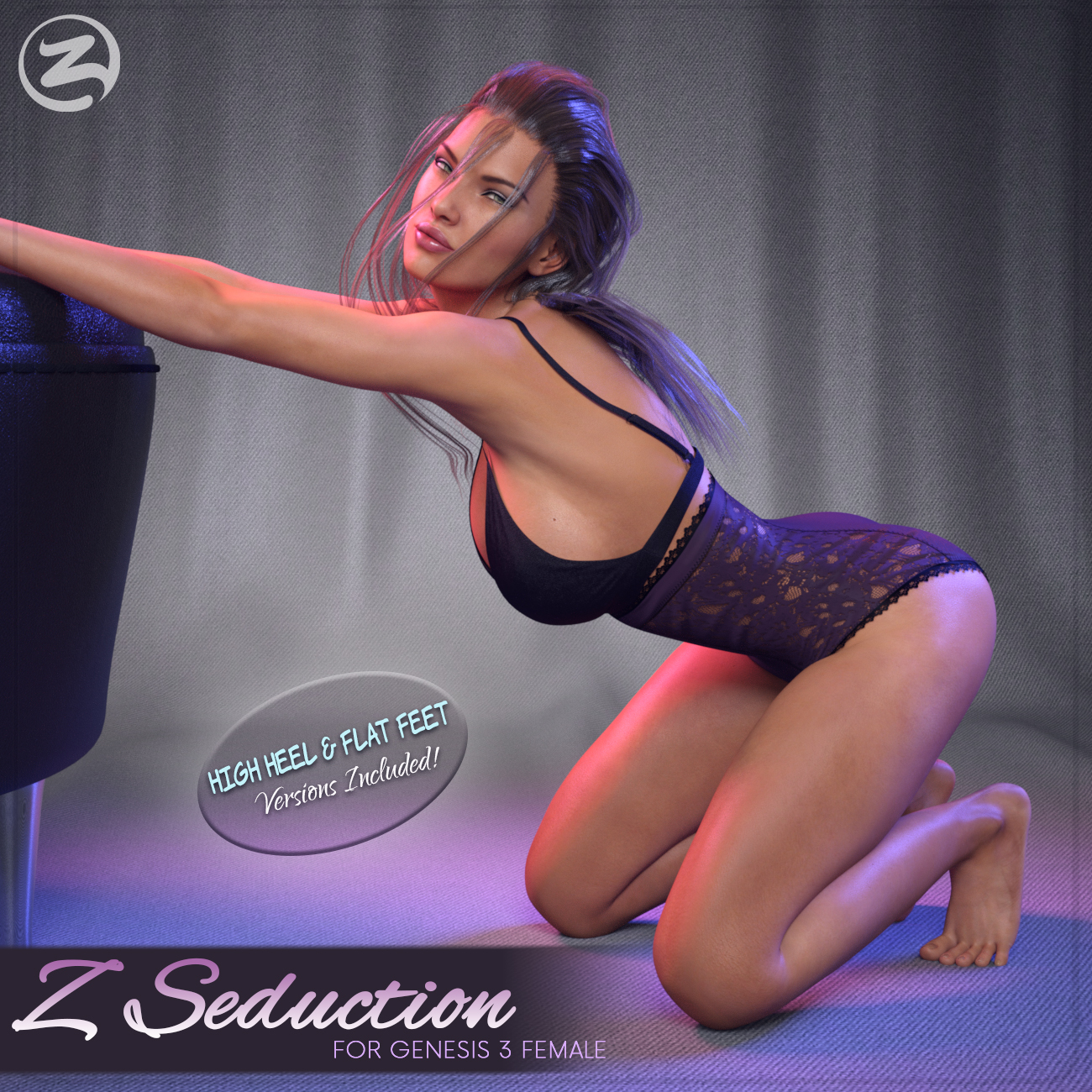 Z Seduction - Poses for the Genesis 3 Females