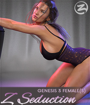 Z Seduction - Poses for the Genesis 3 Females 3D Figure Assets Zeddicuss