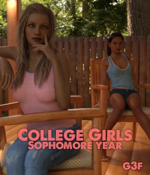 College Girls - Sophomore Year 3D Figure Assets AliveSheCried