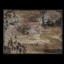 Old Map Routes and Landscapes PS Brushes image 2