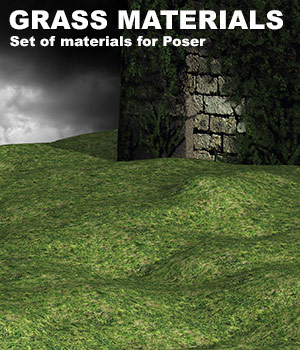 Grass Poser Materials 2D Graphics Merchant Resources Cataleya