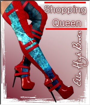 Shopping Queen: Ella High Boots 3D Figure Assets LUNA3D