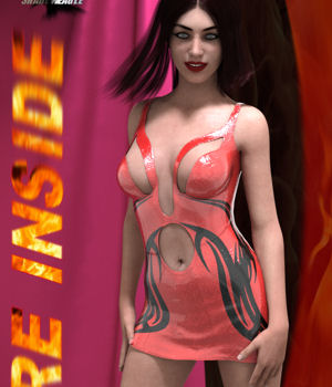 Fire Inside Dress