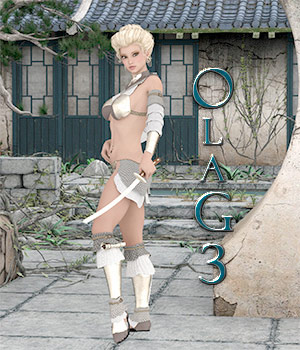 Ola' for Genesis 3 3D Figure Assets OrphanedSoul