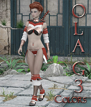 Ola' G3 Color's 3D Figure Assets OrphanedSoul