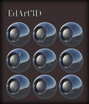 Normal MAPs AddOn 3 for Iray PBR Pro SciFi Shaders MR 3D Figure Assets EdArt3D