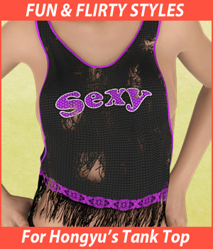 Fun and Flirty for Hongyus Tank Top
