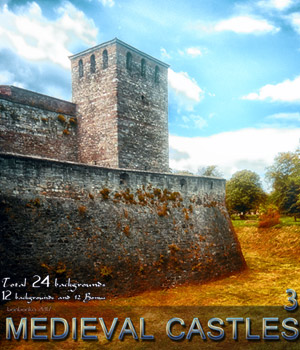 Medieval Castles 3 - 2D backgrounds 2D Graphics bonbonka