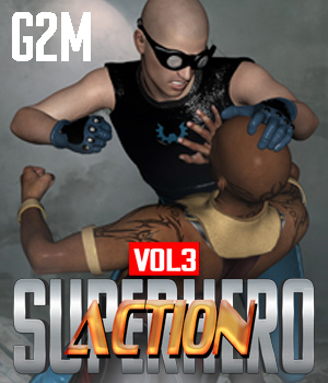 SuperHero Action for G2M Volume 3