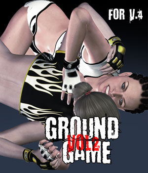 Ground Game vol.2 for V4 3D Figure Assets PainMD
