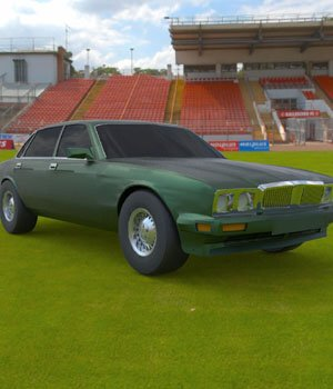 Jaguar XJ-6 1989 (for Wavefront OBJ) - Extended License