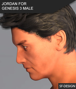 Jordan - Male Character for Genesis 3 Male 3D Figure Assets SF-Design