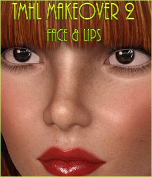 TMHL Makeover 2 Lips and Face MR 2D Graphics Merchant Resources TwiztedMetal