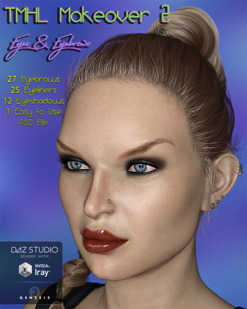 TMHL MakeOver 2 Eyes and Eyebrows MR by TwiztedMetal