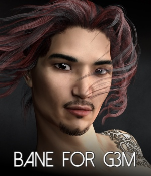 Bane for Lee 7 and Genesis 3 Male 3D Figure Assets RedzStudio
