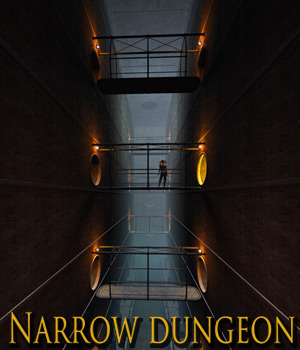 Narrow Dungeon 3D Models 1971s