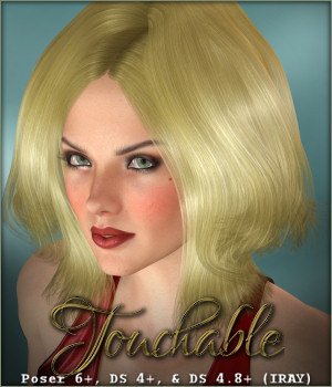 Touchable Linda 3D Figure Assets -Wolfie-