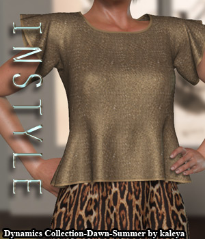 InStyle - Dynamic Collection - Dawn - Summertime  3D Figure Assets -Valkyrie-