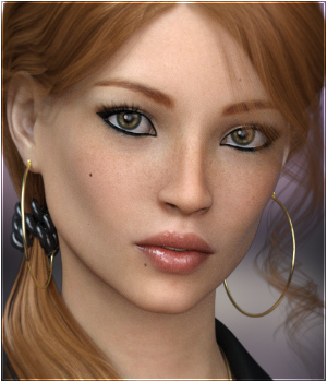 FWSA Noosha for Genesis 3 Female 3D Figure Assets Sabby
